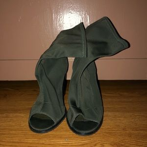 Urban Outfitters Heeled Open Toe Boots
